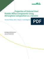 En Controlling Properties of Sintered Steel Powder Metal Components 330-06-077 Us