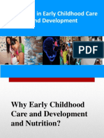 Nutrition in Early Childhood Care and Development