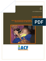 Guidelines for the Integrated Management of Severe Acute Malnutrition in and Out Patient Treatment 12.2011