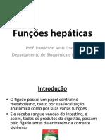 Funcoes Hepaticas QF Medicina
