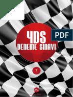 2015 YDS Deneme Sınavı 7