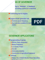 Actuators and Governors