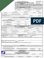 EC Medical Reimbursement Application Form 1