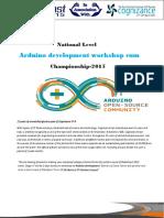 Arduino Development Proposal