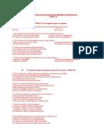 Cuadernillo de Preguntas de Miembro Inferior 2011