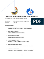 MPU3232 Technopreneurship- Business Plan