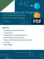 Program Updates GIPD Week May 2017-Spanish