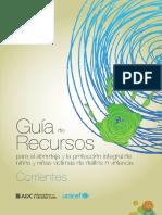 Guia de Recursos para abordaje y protección Corrientes