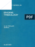 Engine Tribology by C.M. Taylor