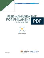Risk Management for Philanthrophy