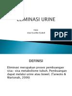 PPT Eliminasi Urine