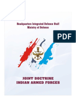 Joint Doctrine Indian Armed Forces