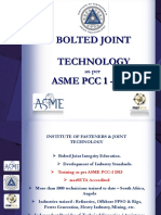 153 152 151 150 148 146 ASME PCC1-Bolted Joint Integrity Presentation 1