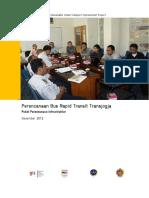 BRT Planning for Transjogja, Infrastructure Planning Package
