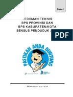 BUKU 1_Pedoman Teknis BPS Provinsi Dan Kabupaten