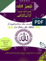 L-explication Des Conditions de La Ilaha Illa Allah.02