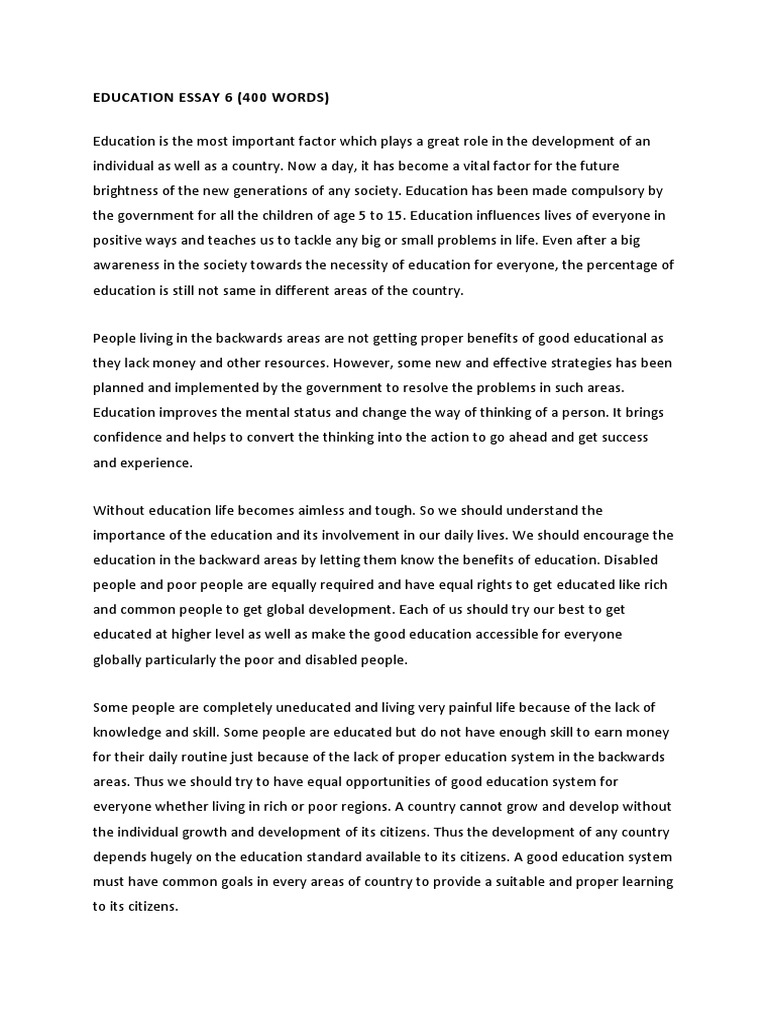 essay on good education madrat co essay on good education