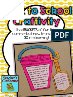 Back to Schoolcraft i Vity Bucket