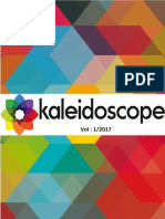 kaleidoscope vol 1 2017