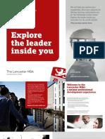 Lancaster MBA Brochure