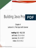 entrada de archivos en java