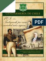 """Chile, """"Gendarmeria de Chile, 105 años"""""""