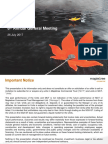 MCT AGM Management Presentation 26 July 2017Final