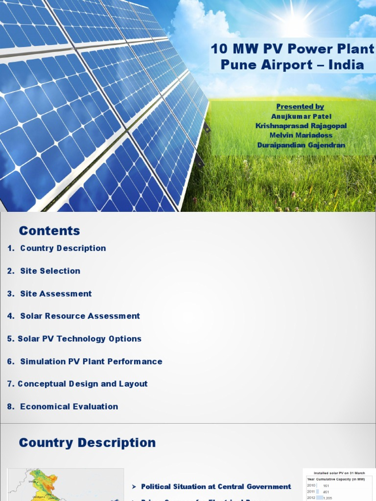 Final Presentation | Solar Power | Power (Physics)