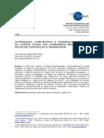 Governança Corporativa e Internacionalização Do Capital Social Das Companhias Brasileiras Do Setor de Construção e Transportes