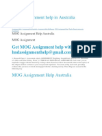 MOG Assignment help Holmes college HI6005