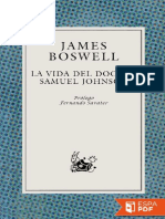 La Vida Del Doctor Samuel Johns - James Boswell