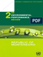 United Nations Environmental Performance Reviews Republic of Montenegro - Second Review Environmental Performances Review Series