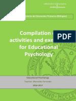 Compilation of Activities actividades psicología de la educación