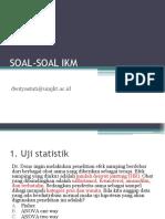 SOAL-SOAL IKM (PPT)
