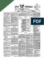 Gazzetta Ufficiale Regno D'Italia 1868