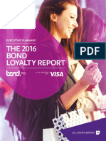 2016 Loyalty Bond Report