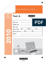 Science Sampling KS2 2010 - Paper B.pdf