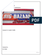 Project Report-Big Bazaar