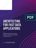 Architecting for Fast Data Applications Mesosphere