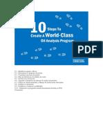 10 Pasos Para Crear Un Programa de Análisis de Aceite de Clase Mundial