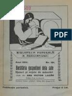 Retete Bucataria Gospodinei de La Sate 1932