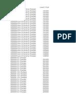 IRDA Billing Codes