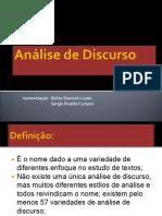 Análise de Discurso