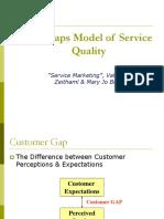 Ch 2 Gaps Model Analysis