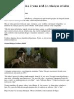 Fotógrafa Reencena Drama Real de Crianças Criadas Por Animais