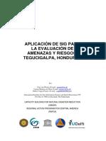 Aplicacion SIG - Evaluacion Amenazas & Riesgos - Tegucigalpa