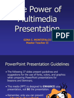 Power of Multimedia Presentation