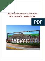 Manifestaciones Cultarales de La Región Lambayeque