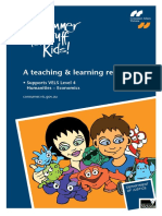 Consumer Stuff for Kids a Teaching and Learning Resource
