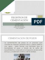 Registros de Cementación